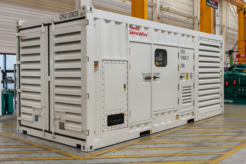 Provision of Large Power Packages & Generators