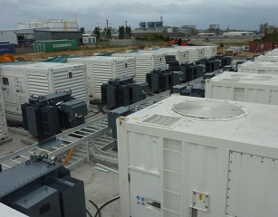 SUPPLEMENTING THE GRID AT A LOCAL SUBSTATION, REDUCING MANPOWER AND SAVING FUEL.